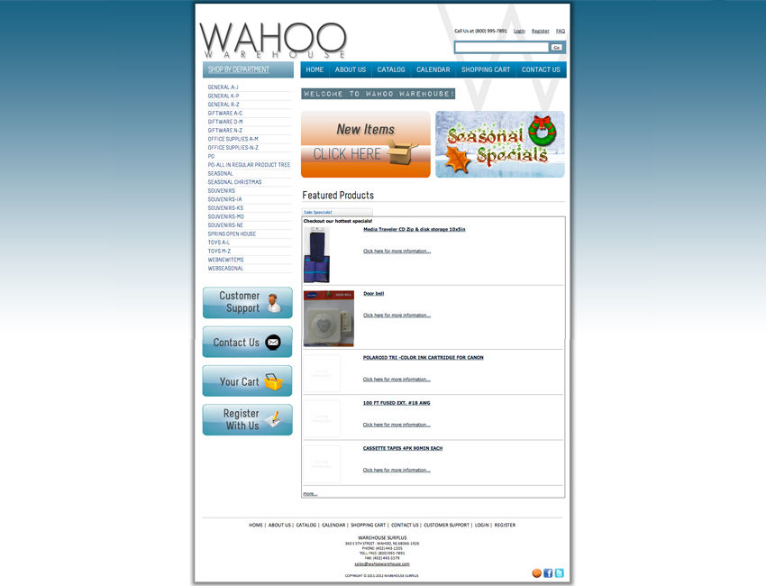 Wahoo Warehouse